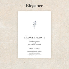 Load image into Gallery viewer, Elegance Change The Date Card