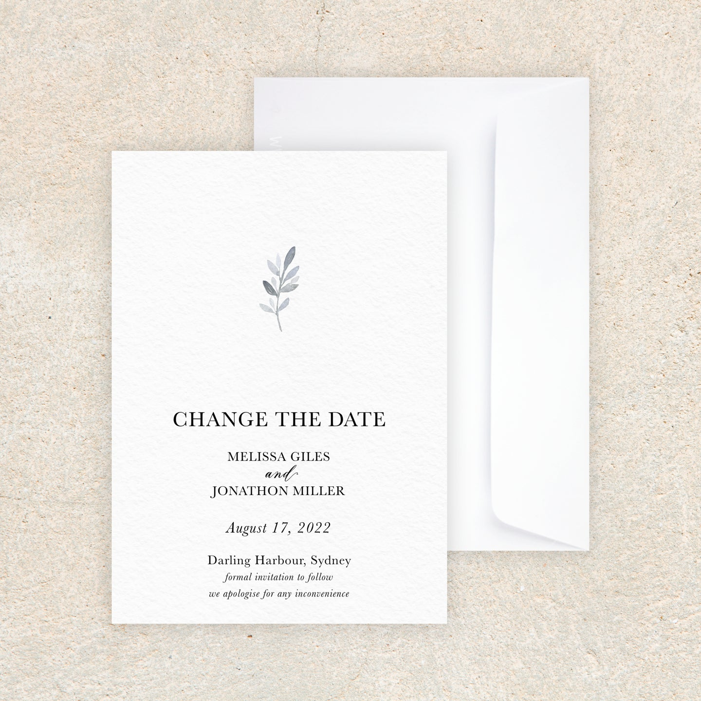 Elegance Change The Date Card