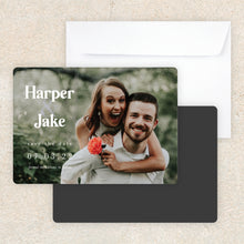 Load image into Gallery viewer, Harper Save The Date Magnet