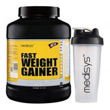 Medisys Fast Weight Gainer Banana 3Kg with Shaker