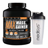Medisys Max Mass Gainer 3Kg-Chocolate with Shaker