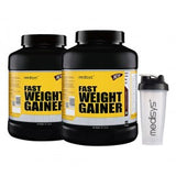 Medisys Fast Weight Gainer Banana 3Kg-Pack of 2 [Free Shaker]
