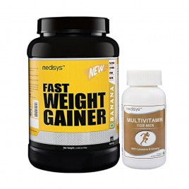 Medisys Fast Weight Gainer - Banana - 1.5Kg with Multivitamin