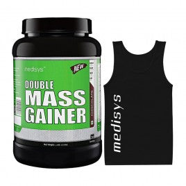 Medisys Double Mass Gainer -Chocolate 1.5kg with Sando