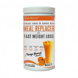 Medisys Nutritious Meal Replacer - Mango - 500gm (A 1200 Calorie Meal Plan)