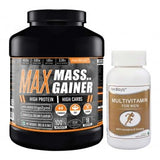 Medisys Max Mass Gainer 3Kg-Cookies & Cream with Multivitamin