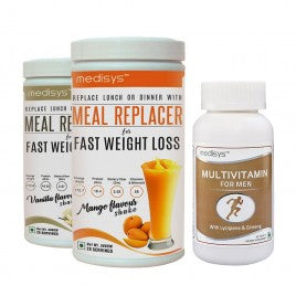 Medisys MEAL REPLACER-DUAL COMBO with Multivitamin Men