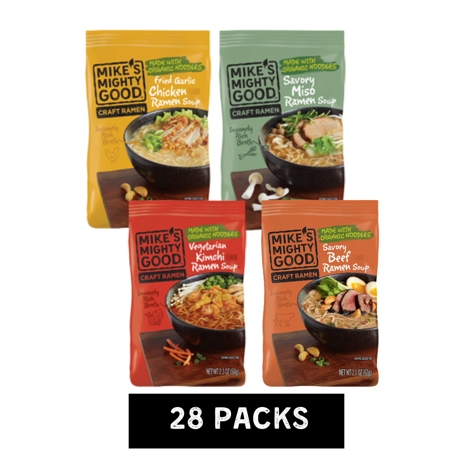 Ramen Pillow Pack Best-Sellers Sampler Pack