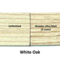 Woodoc Ultra Matt on White Oak - invisible finish