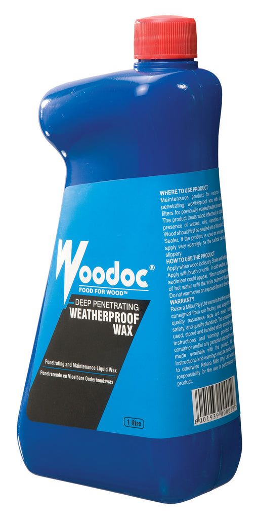 Woodoc Deep Penetrating Weatherproof Wax