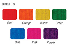 Woodoc Bright Colours - Colour Chart