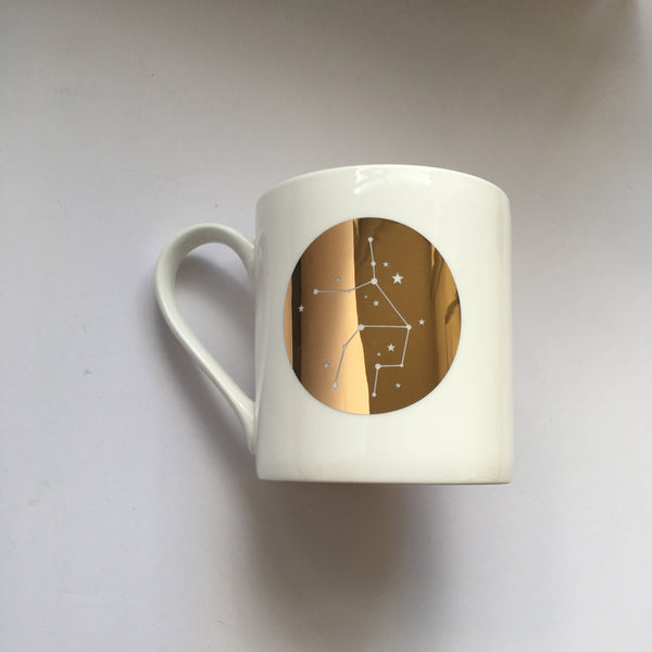 Zodiac Constellation Mug : Virgo