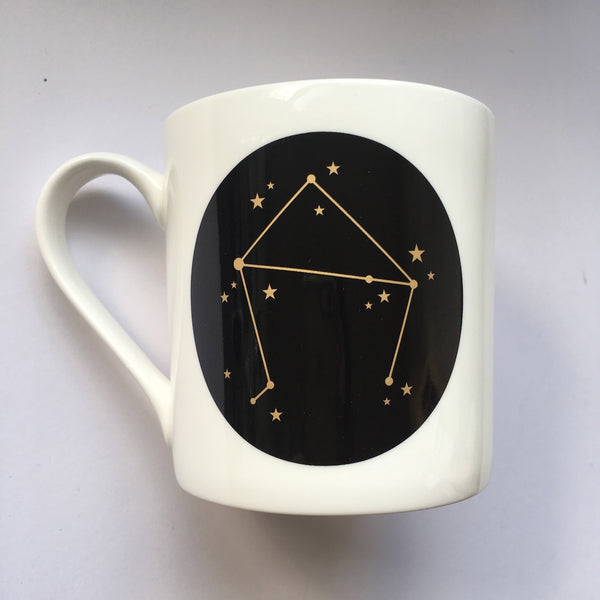 Zodiac Constellation Mug : Libra