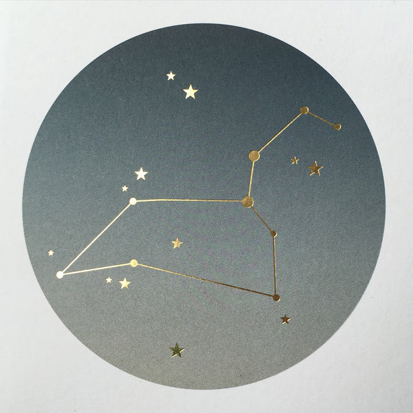 Constellation Star Sign Cards : Boxed Set 12 (Ombré)