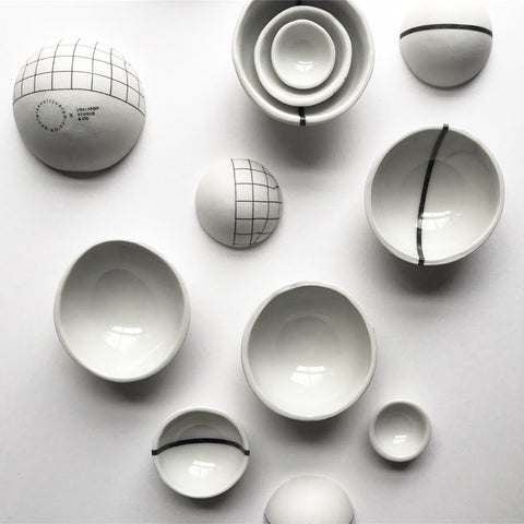 Georgie Scully x Lollipop : Handmade Nesting Bowls