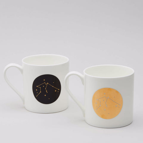 Zodiac Constellation Mug : Aquarius