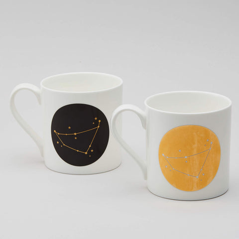 Zodiac Constellation Mug : Capricorn