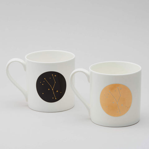 Zodiac Constellation Mug : Taurus