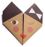 Origami Notepaper Set: Bellas