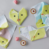Origami Cotton Table Napkins : Chicks set of 4