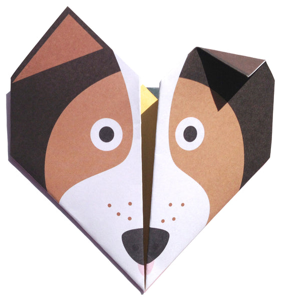 Origami Notepaper Set : Animal Selection 1