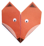 Origami Notepaper Set: Fox