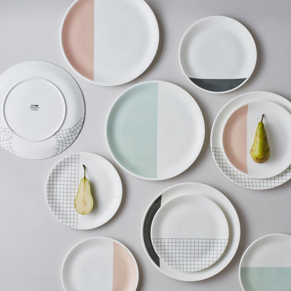 Grid Tableware : Monochrome Pair