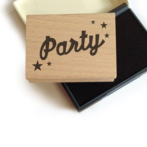 Party Stamp + Ink