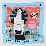 Sophie Ward x Lollipop Silk Scarf : Virgo