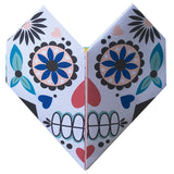 Origami Notepaper Set : Sugar Skull