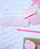 Origami Notepaper Set: Heart
