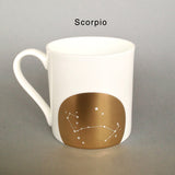 Seconds & Samples : Gold Zodiac Mugs (12 Designs)