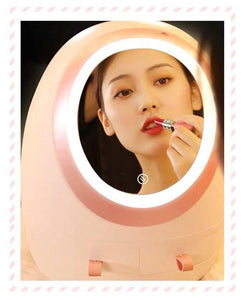 LED Makeup Cosmetic Organizer