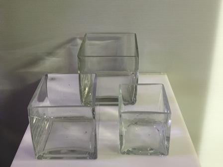 Cubed Vases - three sizes
