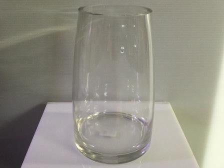 Curved Cylinder Vase Small