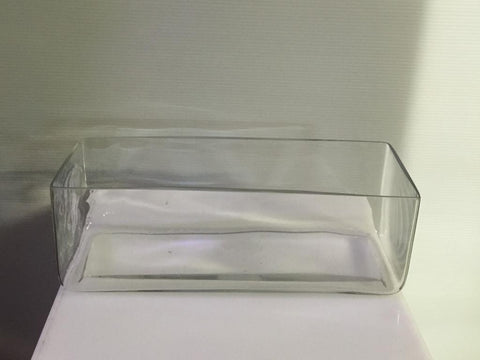 Rectangular Trough Vase