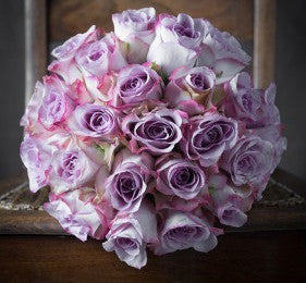 Lavender Rose Bouquet- 12, 18 or 24 roses