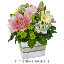 Pastel Flowers Mini Box