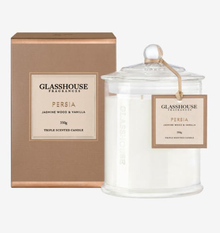 Glasshouse Persia Candle