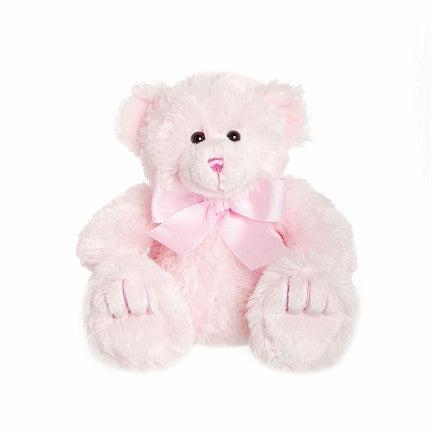 Teddy Time Pink Teddy Bear - Baby Girl