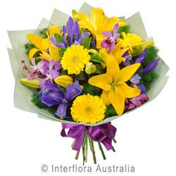 Yellow and Purple Bouquet