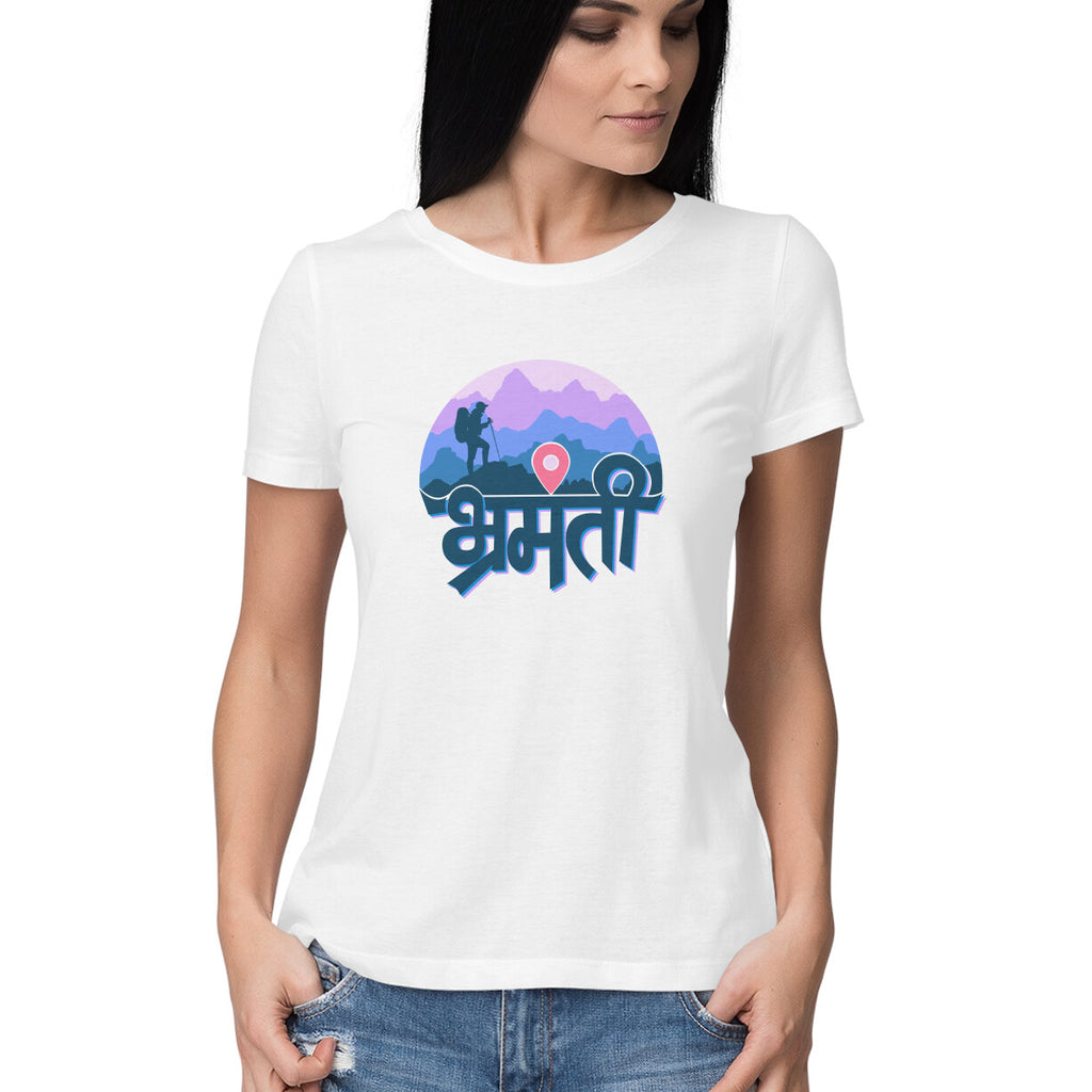 Bhramanti Women's Graphic  T-shirt