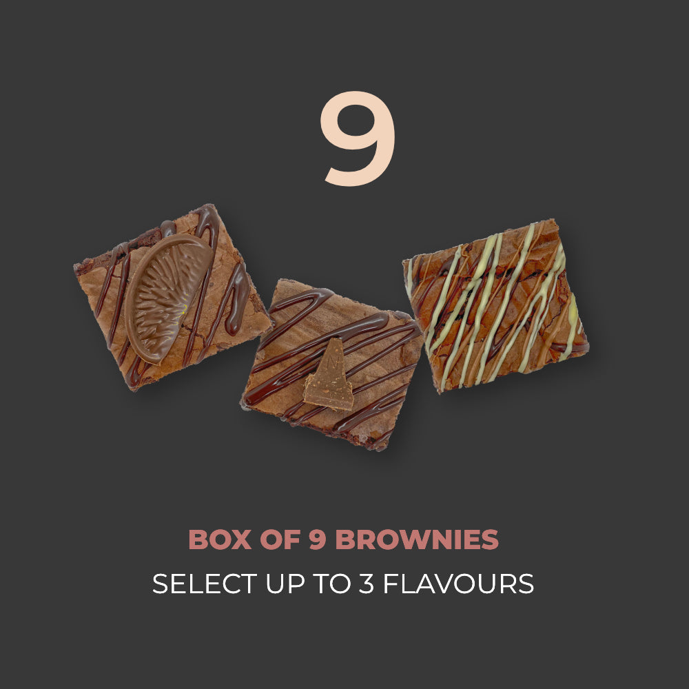 9 BOX - SELECT UP TO 3 FLAVOURS