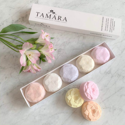 Tamara Shower Bombs Botanical Box of 5