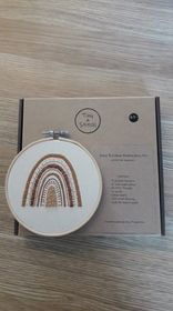 Tiny & Stitch Boho Rainbow Embroidery Kit