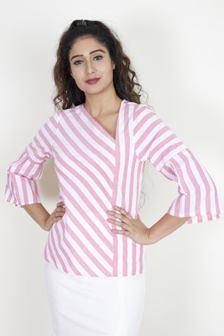 Strawberry Stripes Blouse