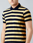 Stripes Pocket Polo T-shirt