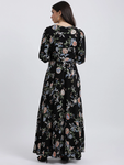 Tropical Fantasy Maxi Dress For Women