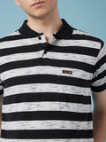 Monte Carlo C&D Navy & Grey Pocket Polo Tee