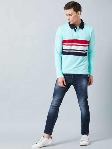 Stripes Polo T-Shirt